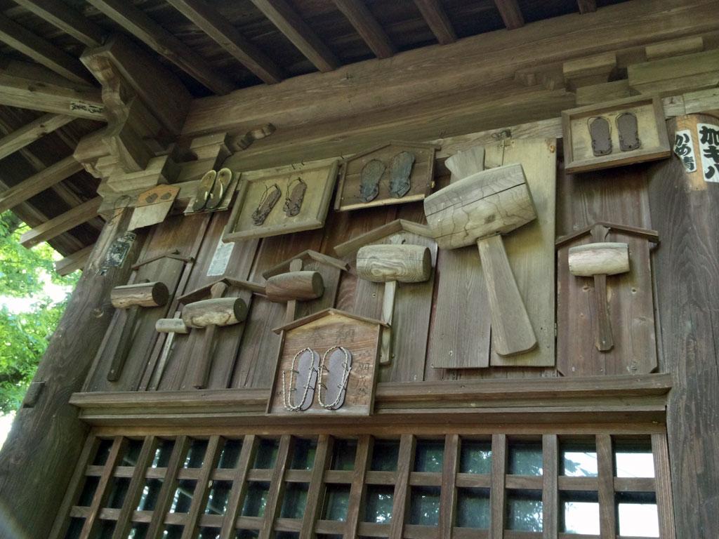 仁王門の壁