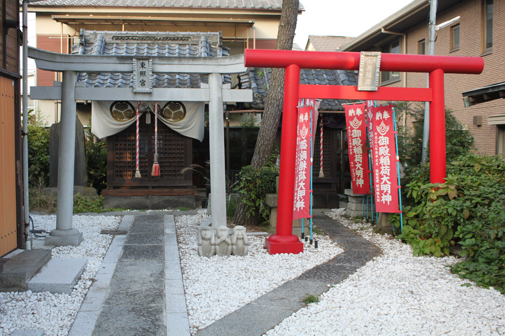 東照宮と稲荷神社