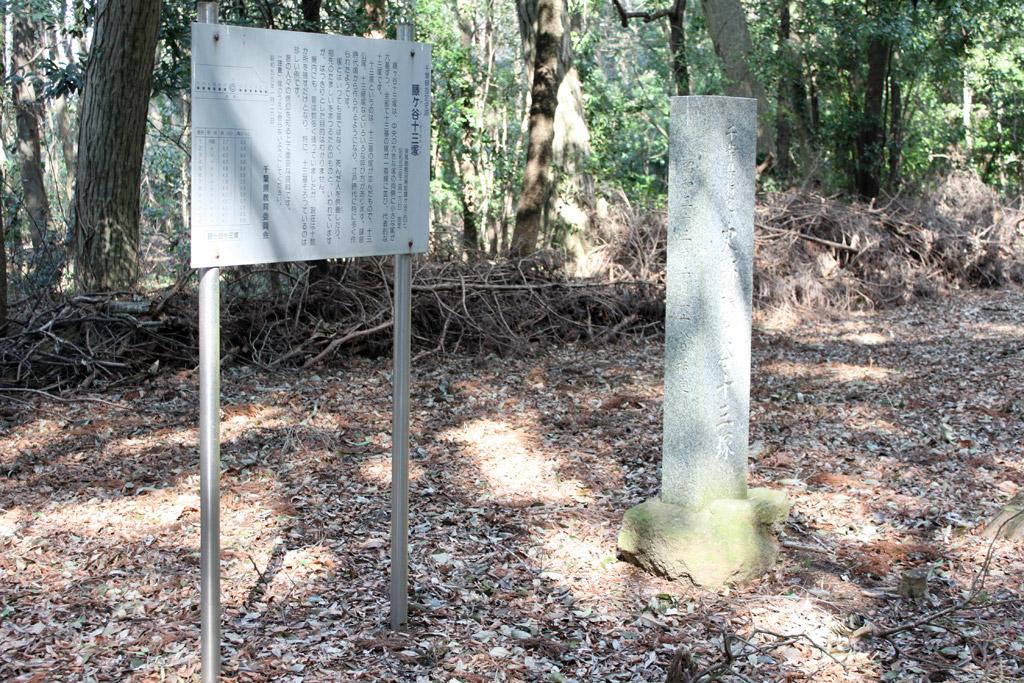 看板(立て札)と碑
