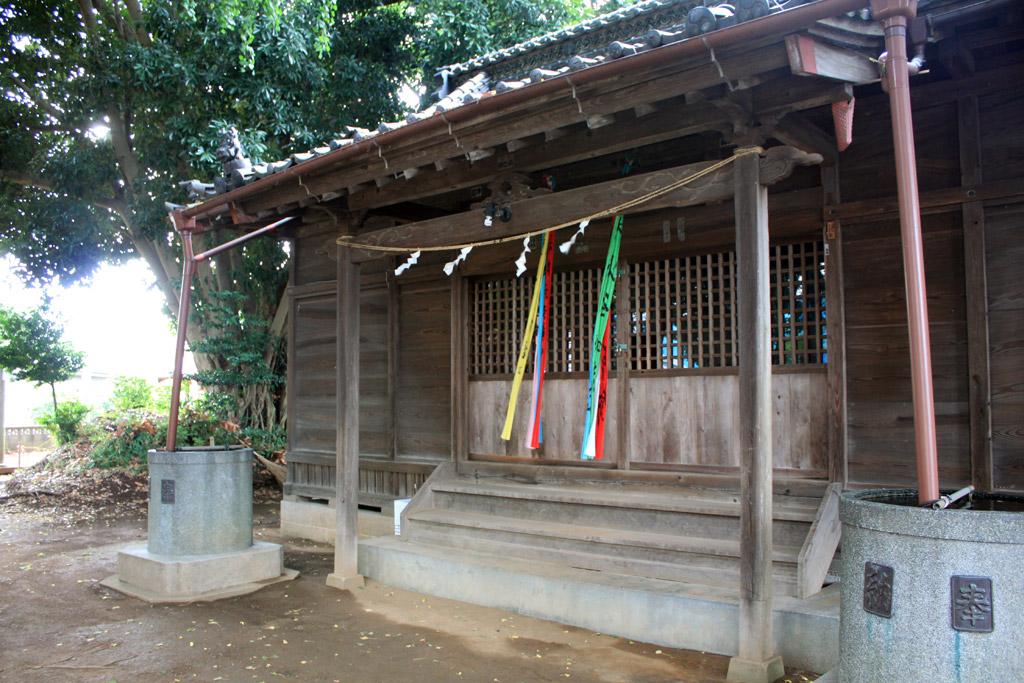 風早神社 拝殿