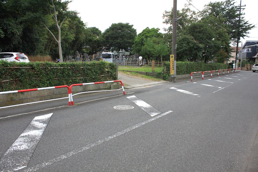 本福寺 駐車場