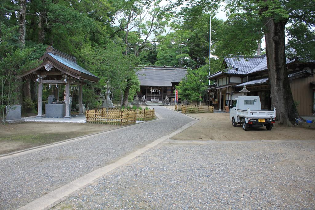 橘樹神社 境内