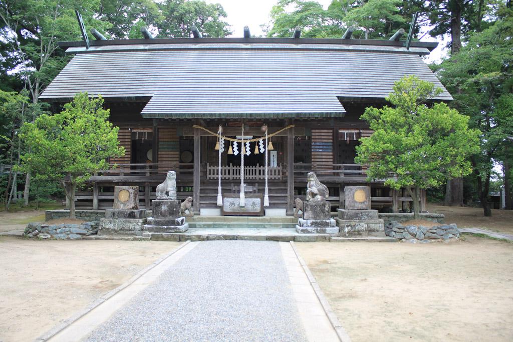 橘樹神社 拝殿正面