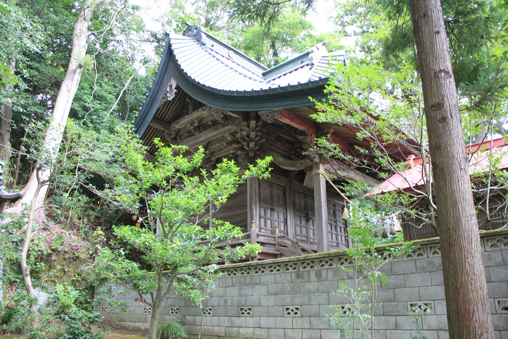 橘樹神社 本殿