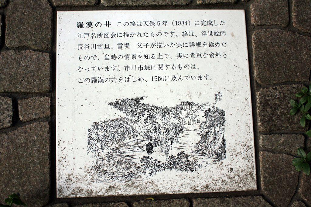 羅漢の井説明
