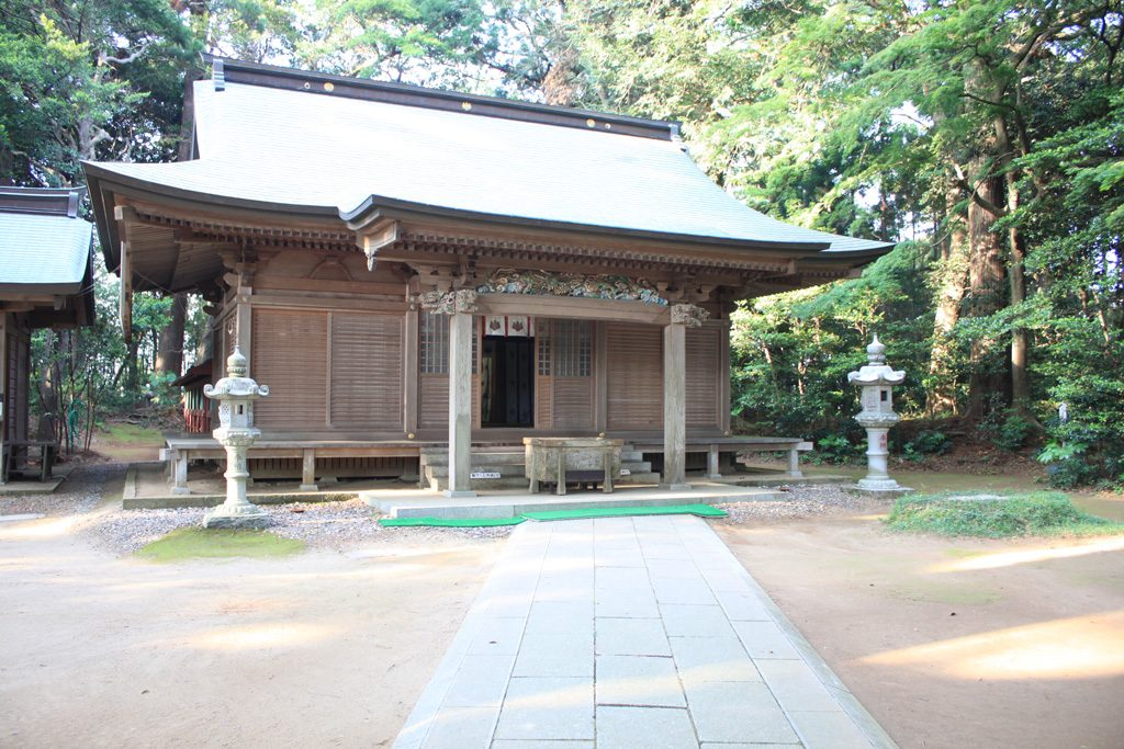 側高神社 拝殿