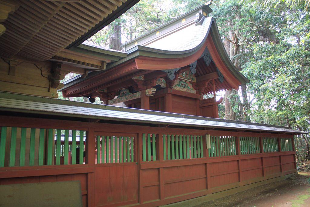 側高神社 本殿