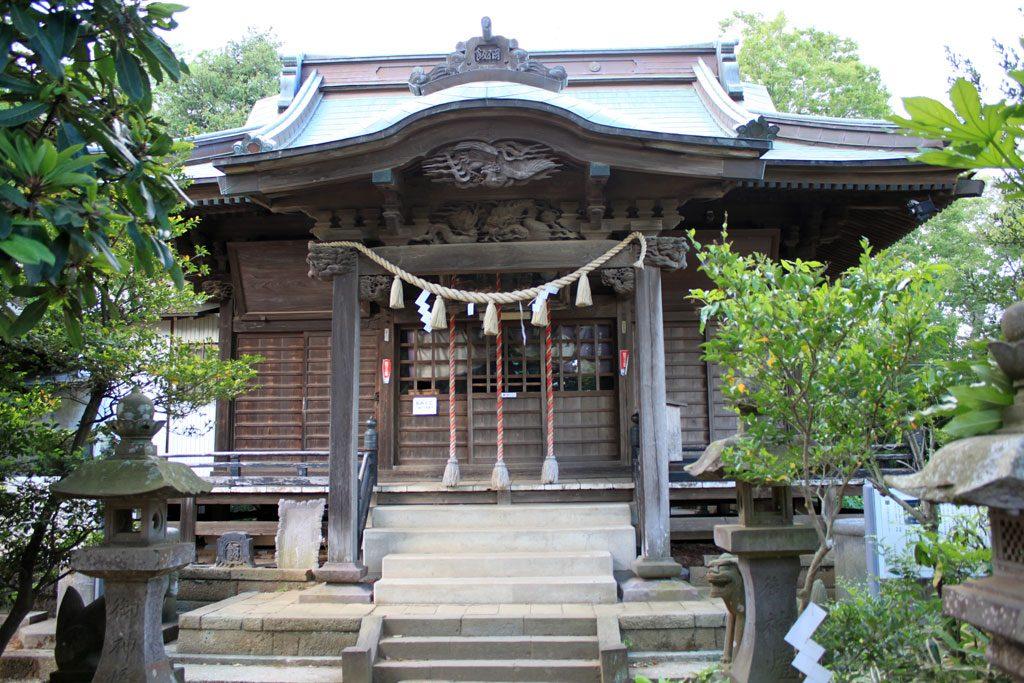 飯綱神社 拝殿