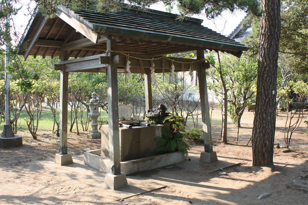 玉崎神社  手水舎