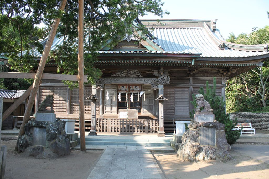 玉崎神社 拝殿正面