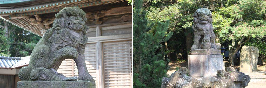 玉崎神社 狛犬