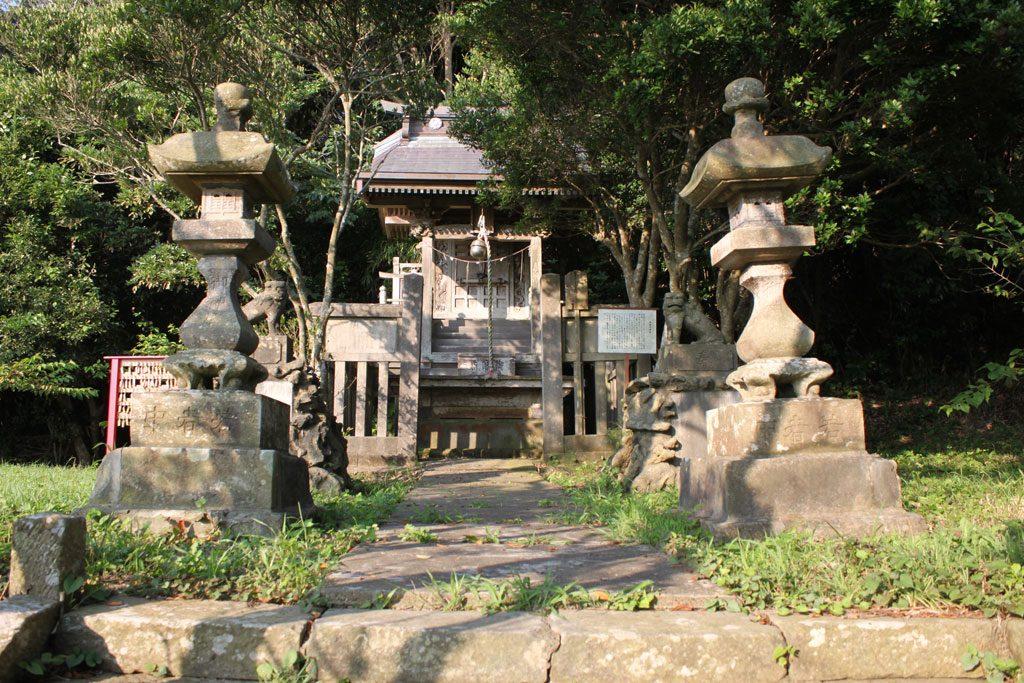 海津見神社本殿
