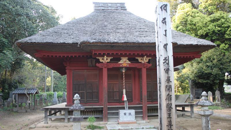 千葉県最古の木造建築 栄福寺薬師堂
